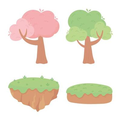 Cartoon Tree Icon Vector Art Graphics Freevector Com ✓ free for commercial use ✓ high quality images. cartoon tree icon vector art graphics