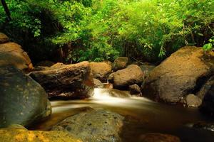 Wang Takrai Waterfalls in Thailand
