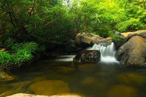 Wang Takrai Waterfall in Thailand