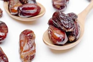 Dates on wooden spoons