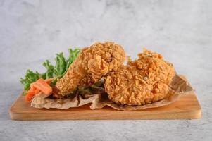 Crispy fried chicken photo