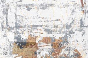 textura de pared de pintura desconchada foto