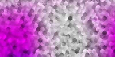 textura de vector rosa claro con formas de memphis.