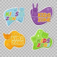 colección de diseño de zona infantil