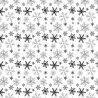 Christmas snowflake pattern design background vector