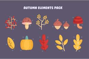Autumn Elements Collection Pack