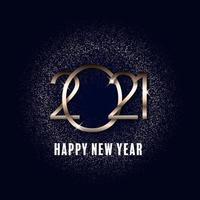 Glittery Happy New Year background 2311