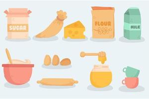 Baking and Cooking Equipment vector