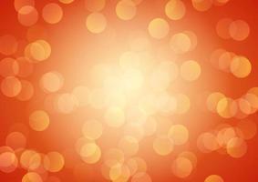 diseño de luces bokeh festivo vector