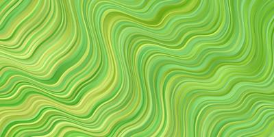 Light Green vector pattern with lines.