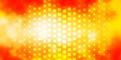 Fondo de vector naranja claro en estilo poligonal.