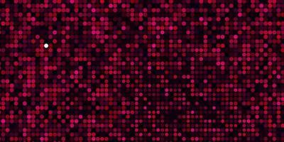 textura de vector rosa oscuro con discos.