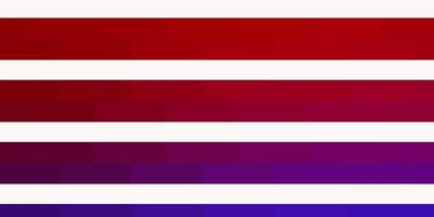 textura de vector azul claro, rojo con líneas.