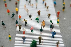 Small miniature people