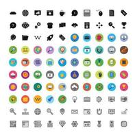 Icon Set Of Search Engine Optimization For Personal And Commercial Use...