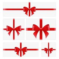 Present box set top view vector design illustration isolated on white background