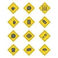 conjunto de iconos de optimización de motores de búsqueda para uso personal y comercial ...