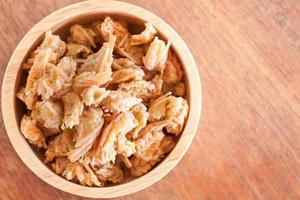 Bowl of fried shrimp