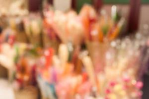 Blurry flower background