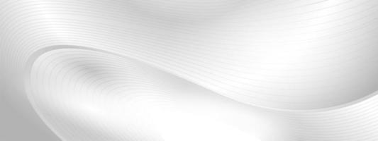 cartel de fondo gris abstracto con diseño dinámico vector
