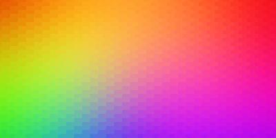 Telón de fondo de vector multicolor oscuro con rectángulos.