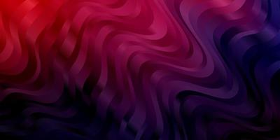 Dark Pink, Blue vector template with wry lines.