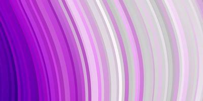 patrón de vector rosa claro con líneas.