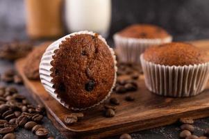 Fresh baked banana muffins