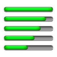 barra de carga vector