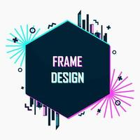 Futuristic frame design