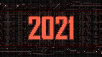 2021 happy new year digital background