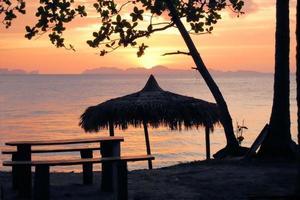 Tropical beach hut in Thailand