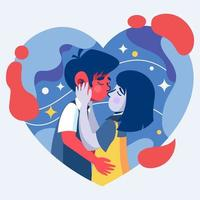 In The Mood for Romantic vector