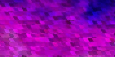 diseño de vector de color púrpura claro con líneas, rectángulos.