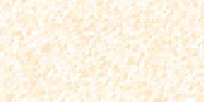 diseño de vector naranja claro con líneas, rectángulos.