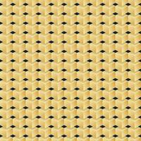 Vector seamless Pattern of golden cubes