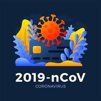 Novel coronavirus 2019-nCoV with credit card