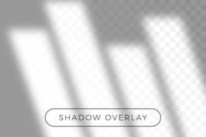 Overlay shadow of natural lighting