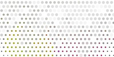 Light gray vector template with circles.