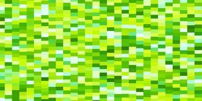 Fondo de vector verde claro, amarillo con rectángulos.