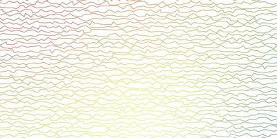 Telón de fondo de vector multicolor oscuro con arco circular.