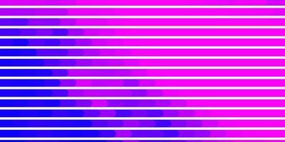 patrón de vector rosa claro, azul con líneas.