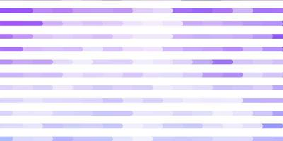 textura de vector púrpura claro con líneas.