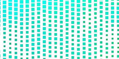 Light Green vector backdrop with rectangles.