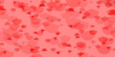 Vector pattern with circles, stars