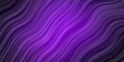 Dark Purple, Pink vector template with lines.