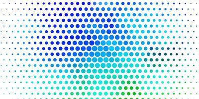 Fondo de vector multicolor claro con círculos.