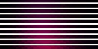 plantilla de vector de color rosa oscuro con líneas.