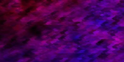 Light Purple vector pattern in square style.
