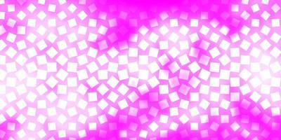 Light Pink vector texture in rectangular style.